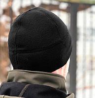 Флисовая шапка Watch Cap (черная)