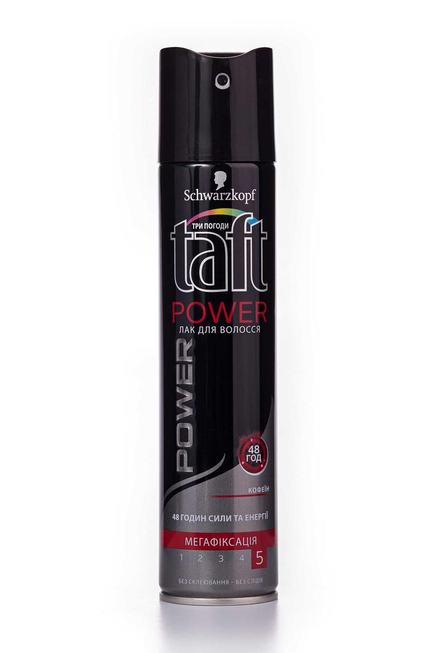 """Лак для волос Taft """"Power с кофеином"""" (250мл.)"""