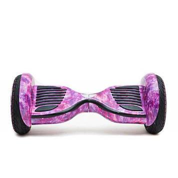 "Гироскутер 10,5"" Smart balance SUV Самобаланс Cosmos pink/Розовый космос,TaoTao"