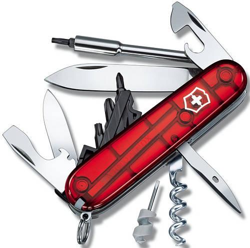 Складной карманный нож Victorinox CyberTool 29, 17605.T красный