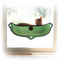 Спальное место для кошек K&H Ez Mount Window Bed на окно 69х28 см.