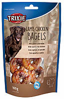 Лакомство Trixie Premio Lamb Chicken Bagels для собак с бараниной и курицей, 100 г