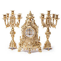 Часы для камина и 2 канделябра Alberti Livio