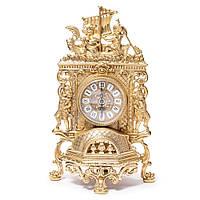 Часы для камина ангелы на лодке Alberti Livio