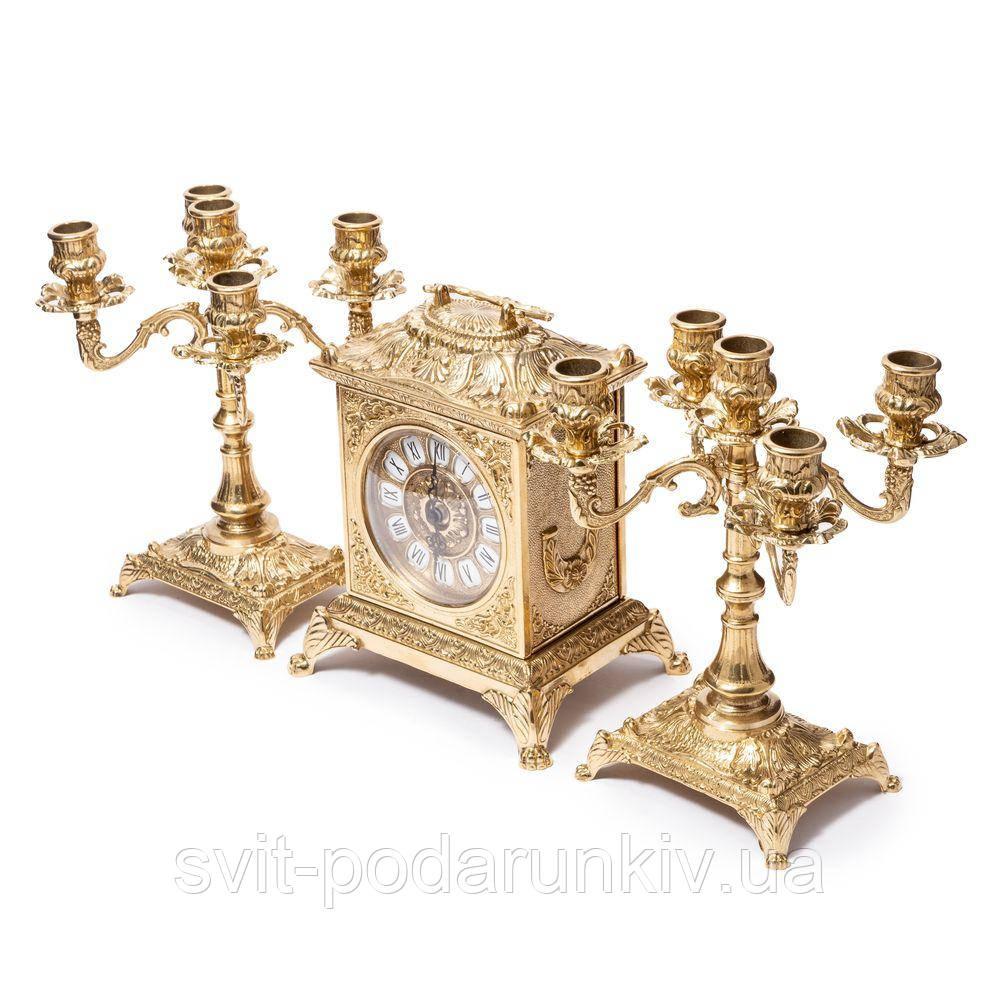 Каминные часы и канделябры 82.108-80.411 Италия