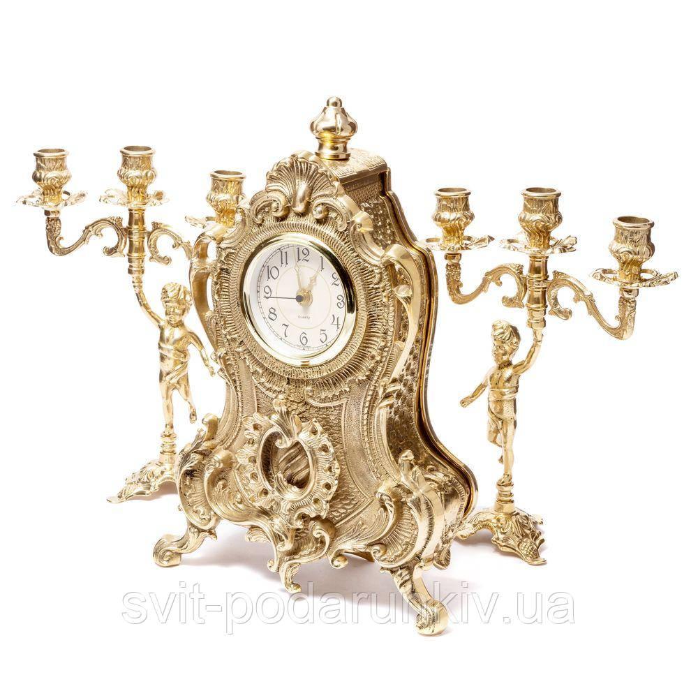Каминные часы и канделябры 02-80.326 Италия