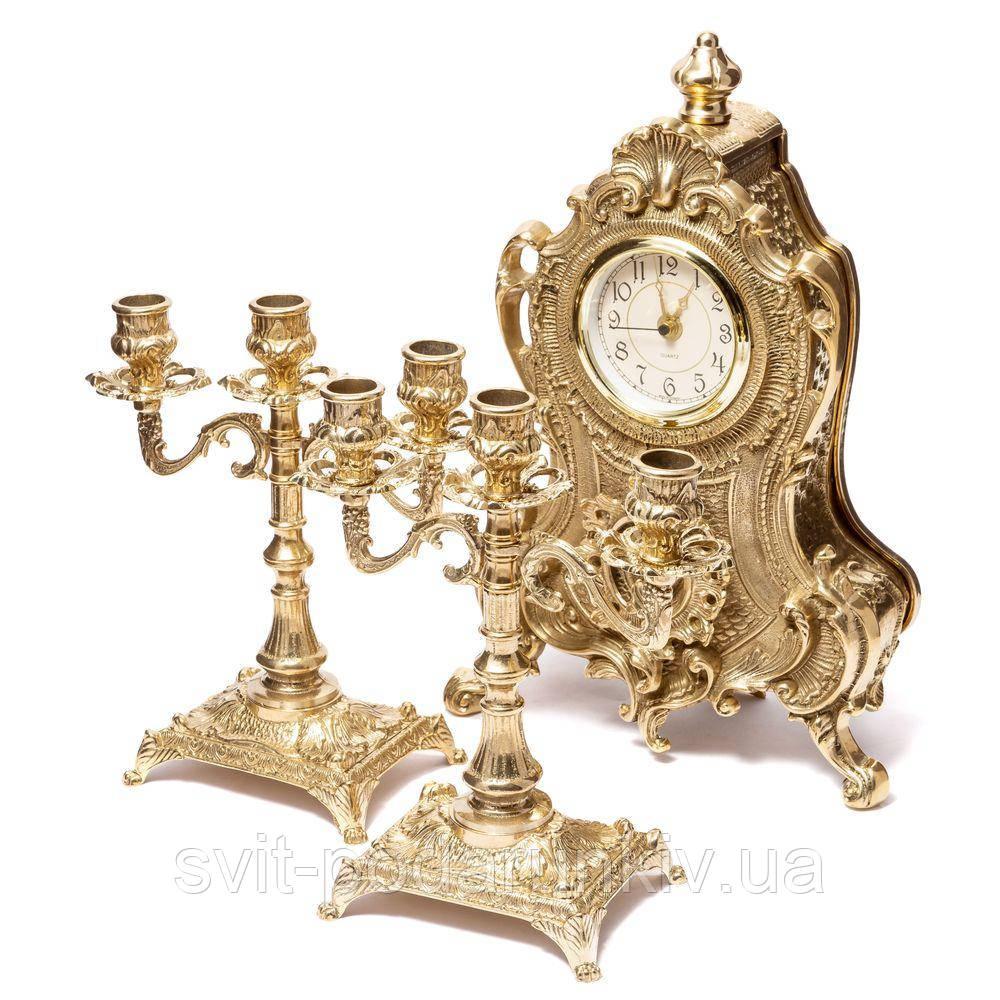 Каминные часы и канделябры 02-80.410 Италия