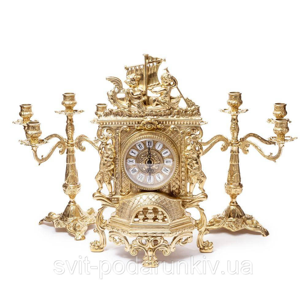 Каминные часы и канделябры 82.101-80.328 Италия