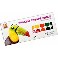 Акварель медовая Луч Мини Зоо 12 цветов картон