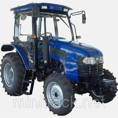 Трактор ДТЗ 5504К (50 л.с. 4х4, кабина, ГУР)