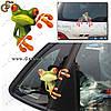 """Наклейка 3D - """"Moodeosa Frog"""""""