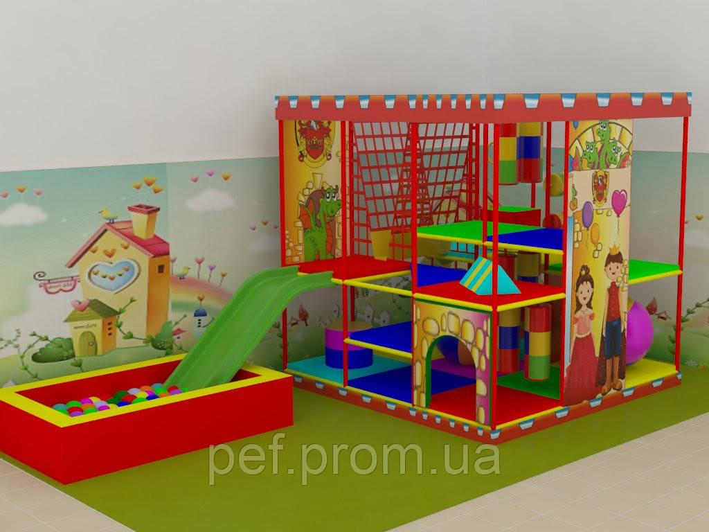 Детский игровой лабиринт 3/3 - Фабрика игрового оборудования в Харькове