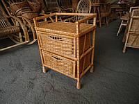 Комод плетеный из лозы  с двумя 2 ящиками