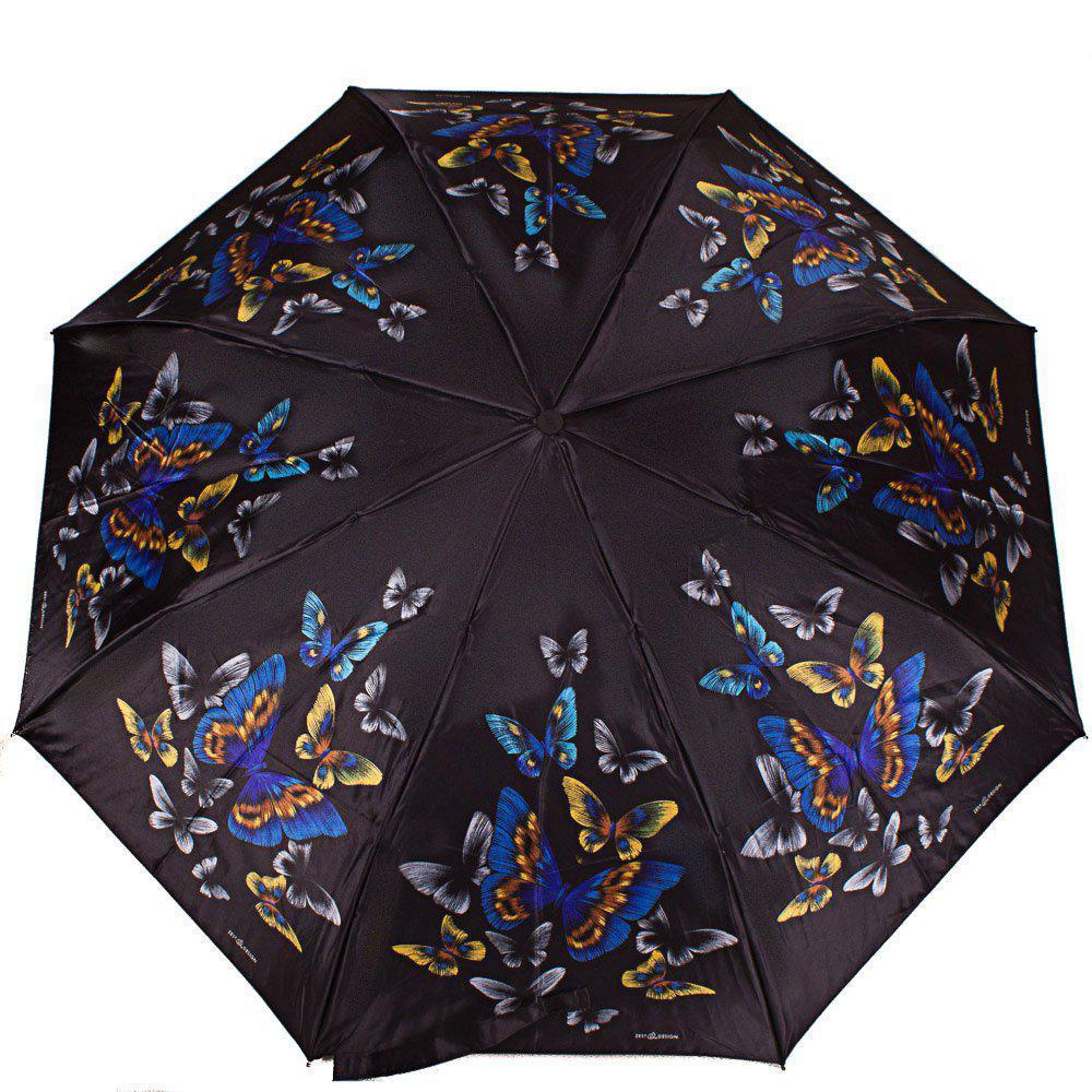 Зонт женский полуавтомат ZEST (ЗЕСТ) Z53624-13