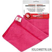 Салфетка полировочная из микроволокна  ProSwissCar MF-02 розовая 35*40 см