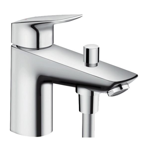Скидка есть! Звоните. Hansgrohe Смеситель на борт ванны с переключателем на душ Logis Monotrou, 71312000