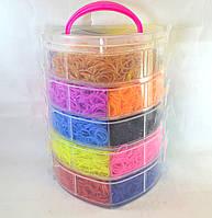 Пяти ярусный набор резинок для плетения браслетов 13000, фото 1