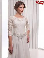 Свадебное платье Л-46 (белое и айвори)