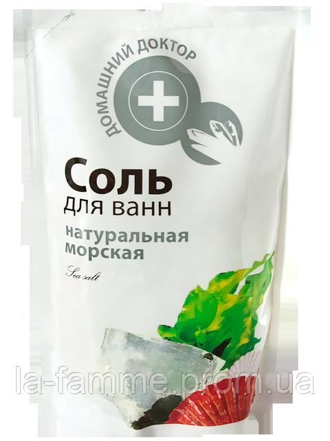 Соль для ванн натуральная Домашний Доктор 500 мл