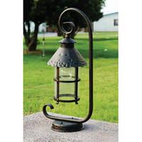 Светильник на опору парковый, старя медь Caior I QMT 1684