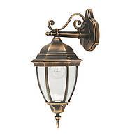 Садово парковый светильник, старое золото. Dallas II QMT 1277S