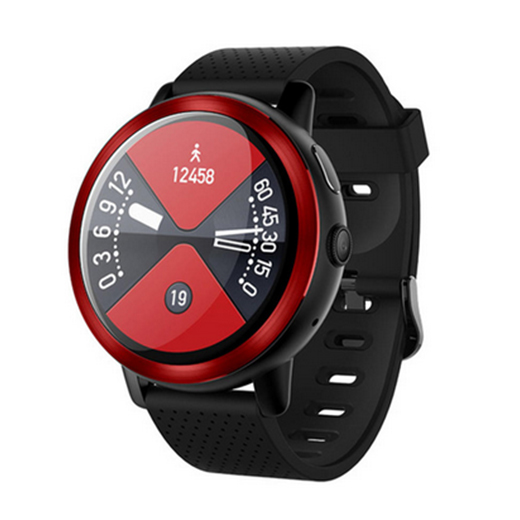 Lemfo Lem8 часы (Камера, 2Gb+16Gb, IP67) - Красный