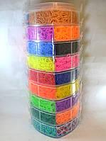 Девяти ярусный набор резинок для плетения браслетов 25000 большой