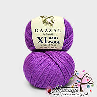 Пряжа Бэби вул XL Baby Wool XL Gazzal, 815, фиолетовый