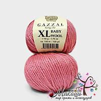 Пряжа Бэби вул XL Baby Wool XL Gazzal, 831, розовый
