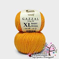 Пряжа Бэби вул XL Baby Wool XL Gazzal, 837, оранж