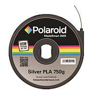 Картридж с нитью 1.75мм/0.75кг PLA Polaroid ModelSmart 250s, серебристый (3D-FL-PL-6013-00)