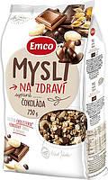 Мюсли Emco Cokolada, с шоколадом, 750 г (Чехия)