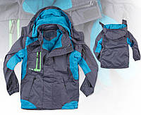 Весенняя спортивная куртка для мальчика 110-134см