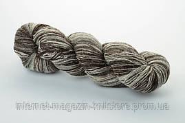 Пряжа Aade Long Kauni Artisric Yarn 8/1 Черно-белый