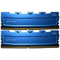 Модуль памяти для компьютера DDR4 16GB (2x8GB) 2133 MHz Blue Kudos eXceleram (EKBLUE4162114AD)