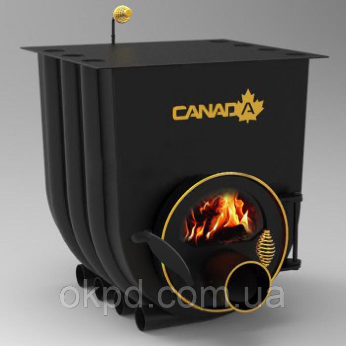 Отопительно - варочная печь - булерьян Canada classic 01 (Канада классик 01) со стеклом