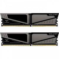 Модуль памяти для компьютера DDR4 16GB (2x8GB) 3200 MHz T-Force Vulcan Gray Team (TLGD416G3200HC16CDC01)