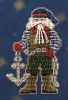 Набор для вышивки Санта Boatswain Santa