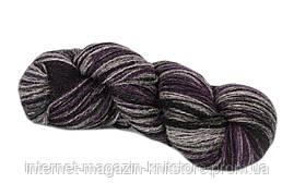 Пряжа Aade Long Kauni Artisric Yarn 8/2 Черная Лила