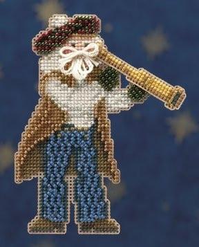 Набор для вышивки Санта First Mate Santa
