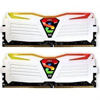 Модуль памяти для компьютера DDR4 16GB (2x8GB) 3200 MHz Super Luce White RGB LED GEIL (GLWC416GB3200C16ADC)