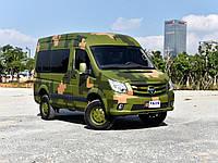 Foton (Фотон) выпустил полноприводный микроавтобус «Буханка» по-китайски.