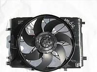 Автомобильный вентилятор для радиатора A2045000293 Mercedes E-Class W212 (2009-2016)