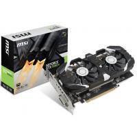 MSI Відеокарта MSI nVidia GTX1050Ti/DualFan/OC/4GB/GDDR5/1455MHz GeForce GTX 1050 Ti 4GT OC