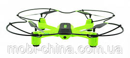 Квадрокоптер дрон Lian Sheng Vector LS2017W с WiFi камерой, черный с зеленым, фото 3