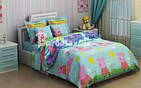 Детский комплект постельного белья(БЯЗЬ)