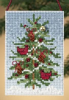 Набор для вышивки Mill Hill Cardinal Tree