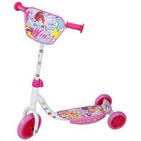 Скутер детский лицензионный - WINX (3-х колесный)