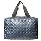 Брендові спортивні сумки Dolce&Gabbana (чорний глянцевий)28*39див, фото 5