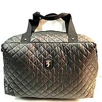 Брендовые спортивные сумки Ferrari (черный)28*39см, фото 1